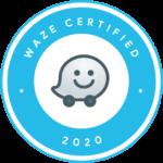 Badge Waze Certified - certification en marketing digital